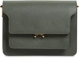 Marni Medium Saffiano Leather Trunk Bag