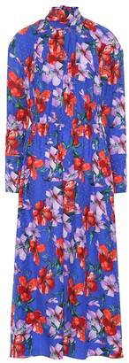 Magda Butrym Viseu floral silk midi dress