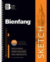 Bienfang R237130 Take Me Along Pad of Sketching Paper, 100 Sheets