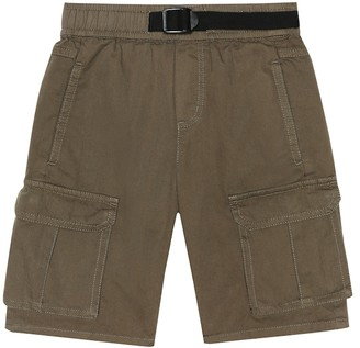 Stella Mccartney Kids Cotton cargo shorts