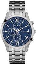 GUESS Guess? Men's Hudson 44mm Steel Bracelet & Case Quartz Dial Watch W0875g1