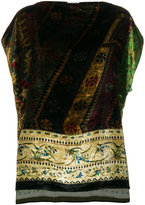 Pierre Louis Mascia Pierre-Louis Mascia - floral blouse