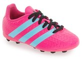 adidas Girl's 'Ace 16.4' Firm Ground Cleats