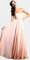 Classic Peach Prom Dress by Nika