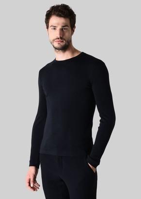 Giorgio Armani Knit In Pure Cashmere Interlock