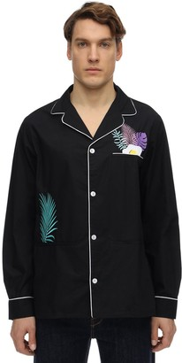 Nikben Tropical Dinner Printed Cotton Shirt