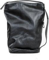 Andrea Incontri Black Leather Sack Back