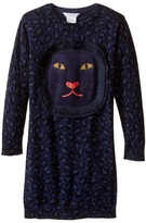 Little Marc Jacobs Knitted Leopard Frange Style All Over Printed Dress Girl's Dress