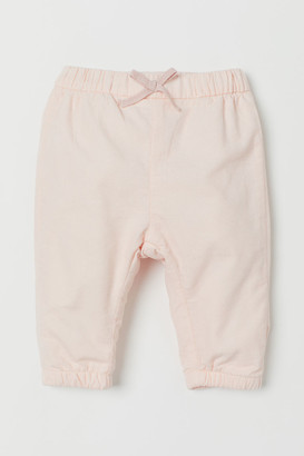H&M Lined corduroy trousers