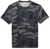 Sandro - Slim-fit Camouflage-print Cotton-jersey T-shirt
