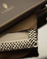 "L'OBJET Gold Braid 8"" x 10"" Frame"