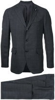 Lardini checked blazer - men - Wool - 46