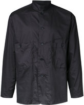 Factotum plain shirt - men - Polyester/Polyurethane - 44