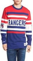 Mitchell & Ness Men's Rangers Open Net Pullover