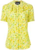 Moschino lemon print blouse