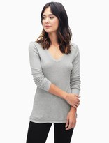 Splendid 1x1 Easy V-Neck Top