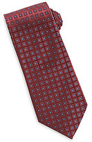 Roundtree & Yorke Diamond Neat Traditional Silk Tie