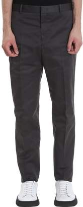 Jil Sander Thynne J.17 Pants In Grey Polyester