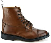 Knutsford By Tricker's Allan Toe Cap Leather Lace Up Boots Tan