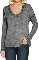 Threads 4 Thought Clementine T-Shirt - Organic Cotton Blend, Long Sleeve (For Women)