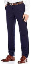 Armani Exchange Ponte Flat-Front Pants