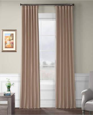 "Bellino Exclusive Fabrics Furnishings Blackout Curtain 120"" x 50"" Curtain Panel"