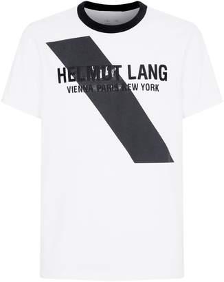 Helmut Lang Sash Logo T-Shirt