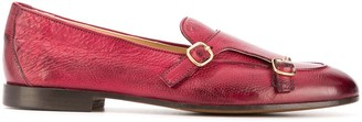 Doucal's buckle detail loafers