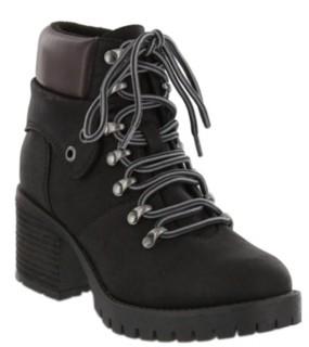 Mia Ben Lace-Up Boots Women's Shoes