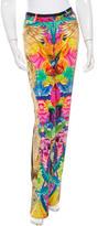 Roberto Cavalli Printed Silk Pants w/ Tags