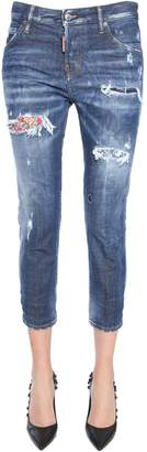 DSQUARED2 cool girl cropped fit jeans