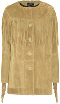 Miel fringed suede jacket