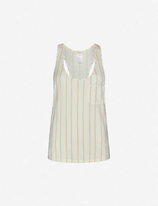 Eberjey Summer Stripe stretch-woven top