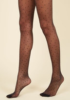 ModCloth La Di Dotty Tights