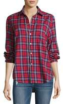 Frank And Eileen Eileen Plaid Button-Front Cotton shirt