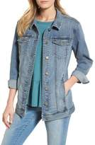 Caslon Relaxed Fit Denim Jacket