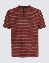 M&S Collection Pure Cotton Striped Top