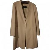 Calvin Klein Collection Beige Cashmere Coat for Women