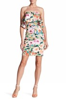 Alexia Admor Strapless Popover Dress