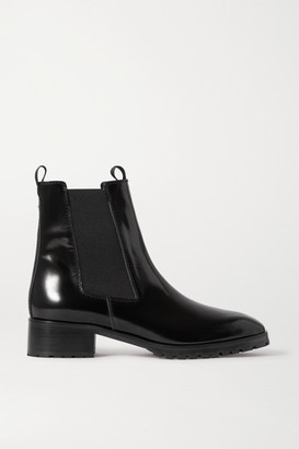 Aeydē aeyde - Karlo Patent-leather Chelsea Boots - Black