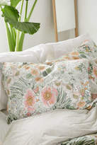 Urban Outfitters Lovise Floral Jersey Pillowcase Set