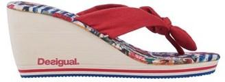 Desigual Toe post sandal