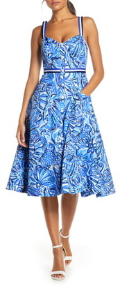 Lilly Pulitzer Ellee Fit & Flare Sundress