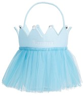 Pottery Barn Kids Blue Tulle Crown Treat Bag