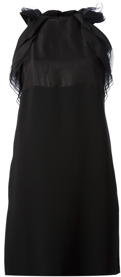 Chloé ruffle detail dress