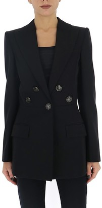 Givenchy 4G Button Fitted Blazer