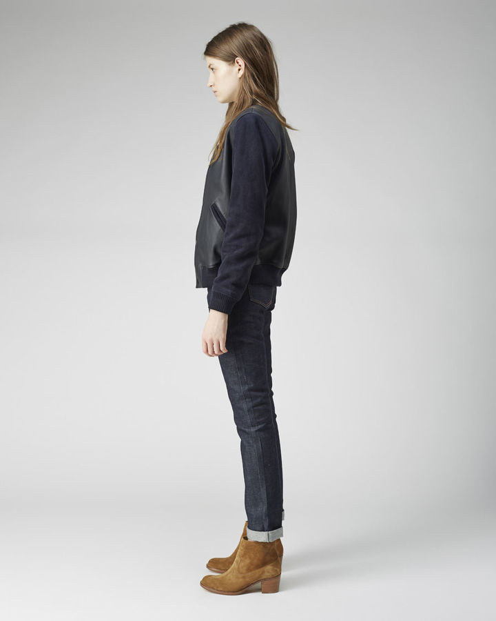 A.P.C. rizzo teddy jacket