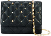 Thomas Wylde quilted studded crossbody - women - Lamb Nubuck Leather - One Size