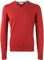 Brunello Cucinelli V-neck jumper - men - Cotton - 48