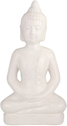 Sagebrook Home Ceramic Buddha Figurine